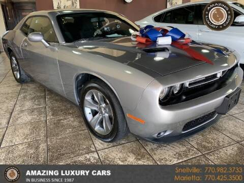 2017 Dodge Challenger for sale at Amazing Luxury Cars in Snellville GA