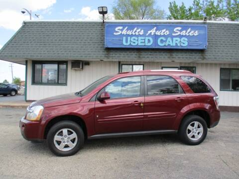 2008 Chevrolet Equinox for sale at SHULTS AUTO SALES INC. in Crystal Lake IL