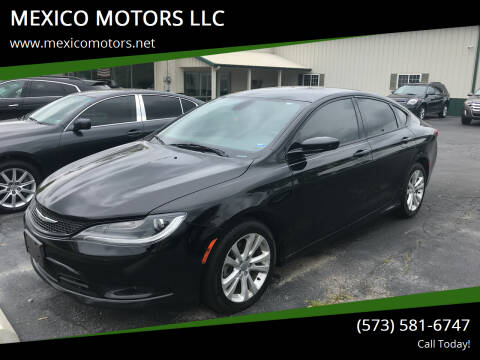2016 Chrysler 200 for sale at MEXICO MOTORS LLC in Mexico MO