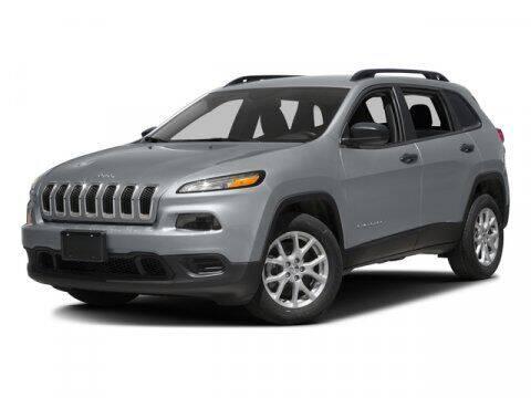 2017 Jeep Cherokee for sale at Scott Evans Nissan in Carrollton GA