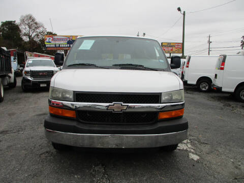 2013 Chevrolet Express Passenger for sale at LOS PAISANOS AUTO & TRUCK SALES LLC in Peachtree Corners GA