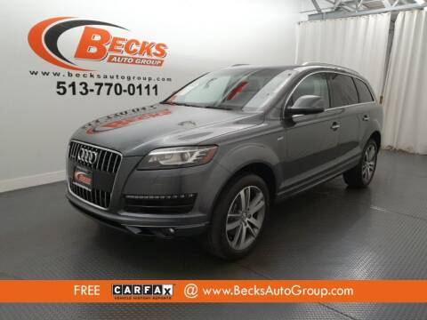 2014 Audi Q7 for sale at Becks Auto Group in Mason OH