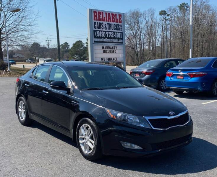 2013 Kia Optima for sale at Reliable Cars & Trucks LLC in Raleigh NC