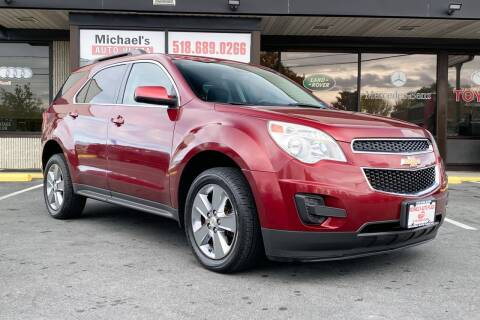 2012 Chevrolet Equinox for sale at Michaels Auto Plaza in East Greenbush NY