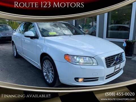 2013 Volvo S80 for sale at Route 123 Motors in Norton MA