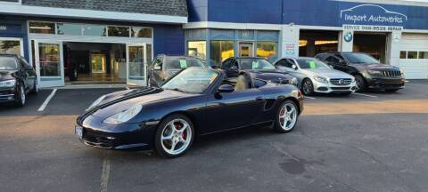 2003 Porsche Boxster for sale at Import Autowerks in Portsmouth VA