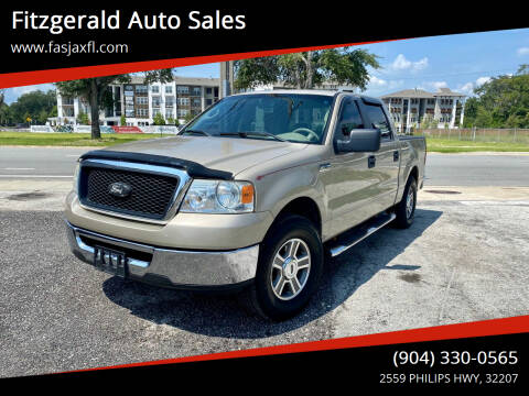 2007 Ford F-150 for sale at Fitzgerald Auto Sales in Jacksonville FL