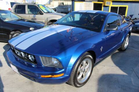 2006 Ford Mustang for sale at Good Vibes Auto Sales in North Hollywood CA