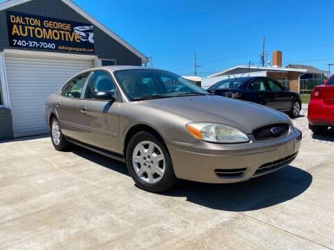 2005 Ford Taurus for sale at Dalton George Automotive in Marietta OH