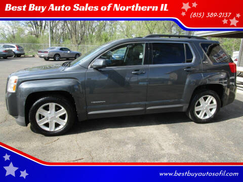 2011 GMC Terrain for sale at Best Buy Auto Sales of Northern IL in South Beloit IL