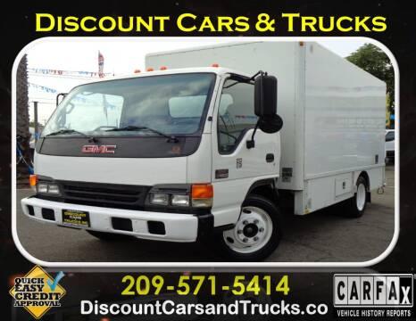 2005 GMC W4500 for sale at Discount Cars & Trucks in Modesto CA