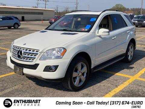 2011 Mercedes-Benz M-Class for sale at Enthusiast Autohaus in Sheridan IN