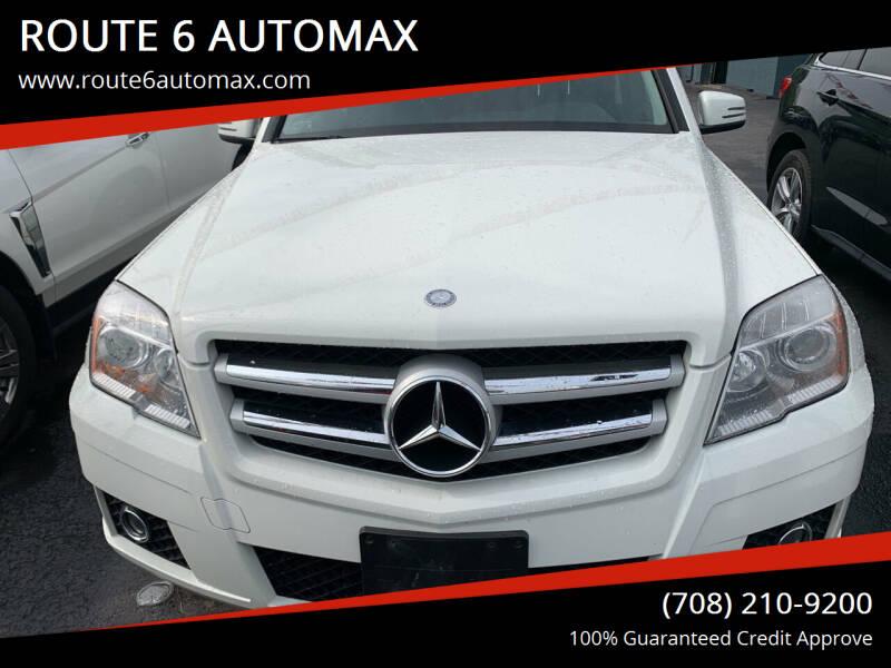 2012 Mercedes-Benz GLK for sale at ROUTE 6 AUTOMAX in Markham IL