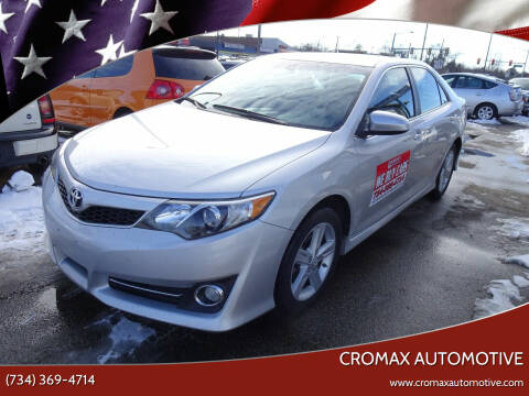 2014 Toyota Camry for sale at Cromax Automotive in Ann Arbor MI