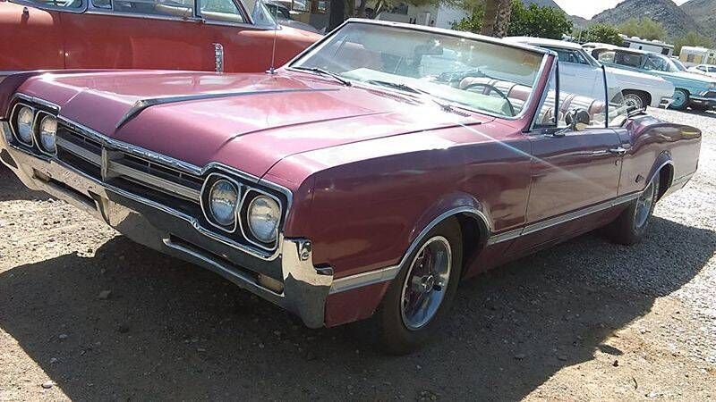 1967 Oldsmobile Cutlass for sale at Collector Car Channel - Desert Gardens Mobile Homes in Quartzsite AZ