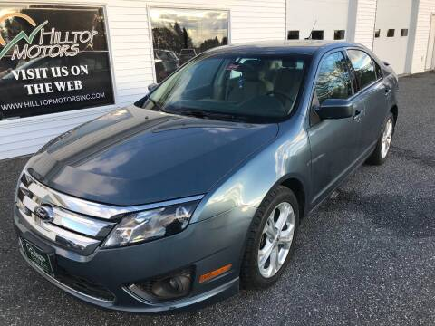 2012 Ford Fusion for sale at HILLTOP MOTORS INC in Caribou ME