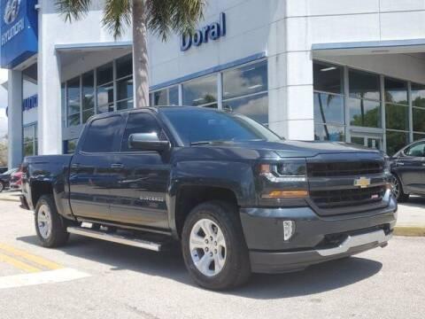 2018 Chevrolet Silverado 1500 for sale at DORAL HYUNDAI in Doral FL