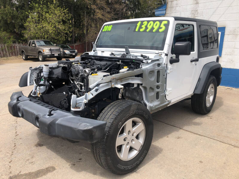 2016 Jeep Wrangler for sale at Don's Sport Cars in Hortonville WI
