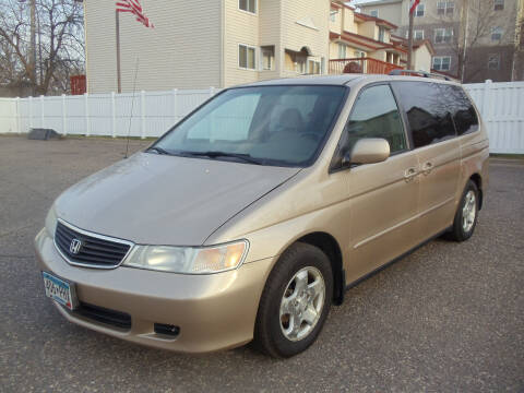 2001 Honda Odyssey for sale at Metro Motor Sales in Minneapolis MN