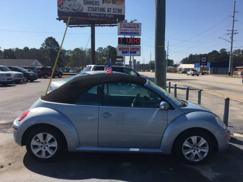 2009 Volkswagen New Beetle Convertible for sale at Deckers Auto Sales Inc in Fayetteville NC