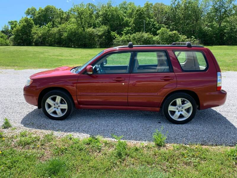 2007 Subaru Forester for sale at Steve's Auto Sales in Harrison AR