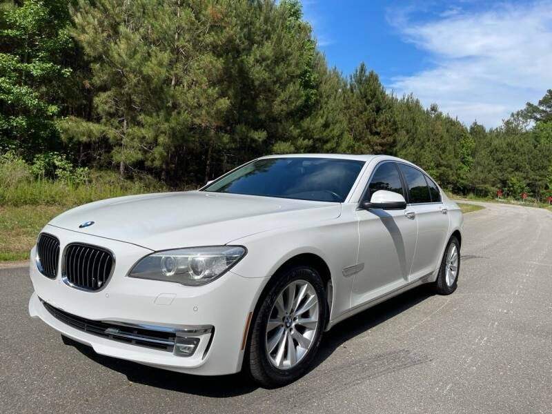 2013 BMW 7 Series for sale at Carrera AutoHaus Inc in Clayton NC