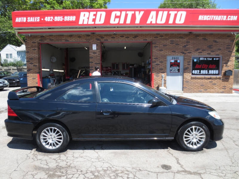 2005 Honda Civic for sale at Red City  Auto in Omaha NE