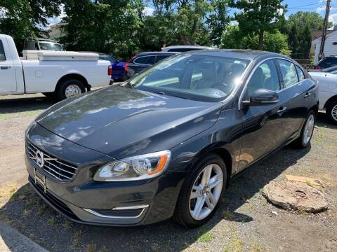 2014 Volvo S60 for sale at Charles and Son Auto Sales in Totowa NJ