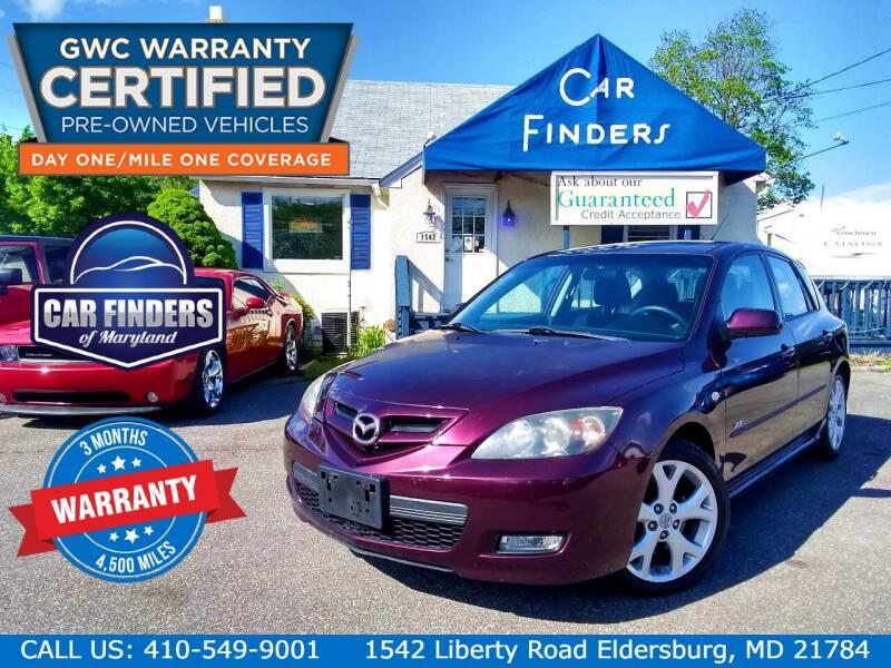 2007 Mazda MAZDA3 for sale at CAR FINDERS OF MARYLAND LLC - Certified Cars in Eldersburg MD