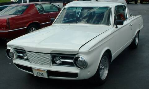 1965 Plymouth Barracuda for sale at Morelock Motors INC in Maryville TN