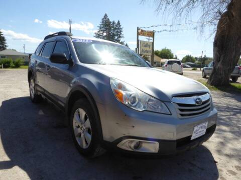 2011 Subaru Outback for sale at VALLEY MOTORS in Kalispell MT
