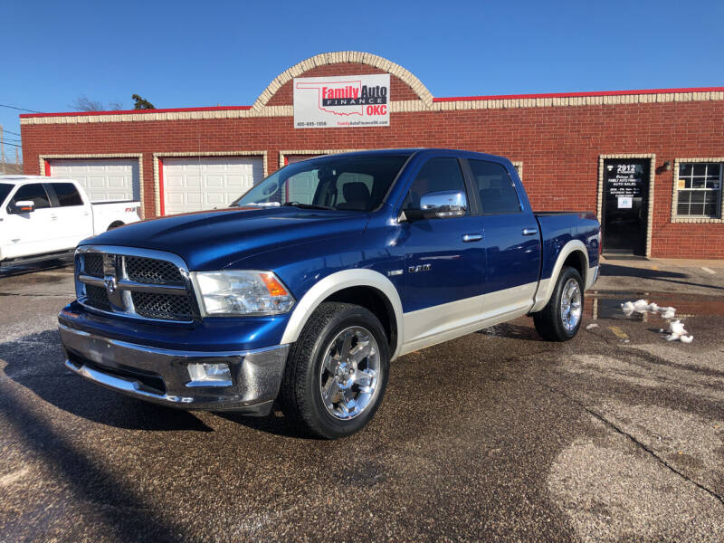 2010 Dodge Ram Pickup 1500 for sale at Family Auto Finance OKC LLC in Oklahoma City OK