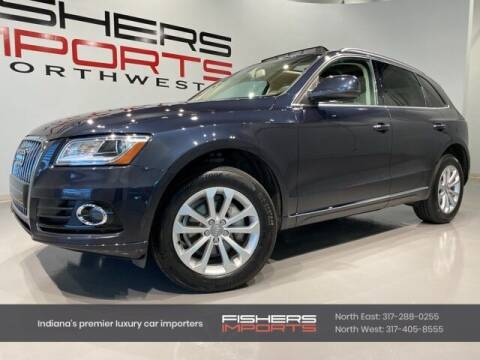 2015 Audi Q5 for sale at Fishers Imports in Fishers IN