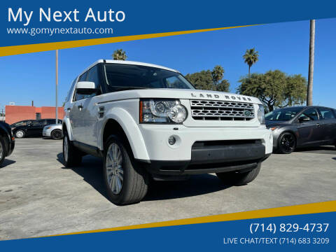 2012 Land Rover LR4 for sale at My Next Auto in Anaheim CA