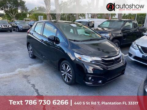 2018 Honda Fit for sale at AUTOSHOW SALES & SERVICE in Plantation FL