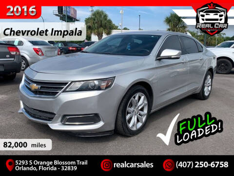 2016 Chevrolet Impala for sale at Real Car Sales in Orlando FL