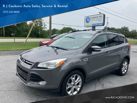 2013 Ford Escape for sale at R J Cackovic Auto Sales, Service & Rental in Harrisburg PA