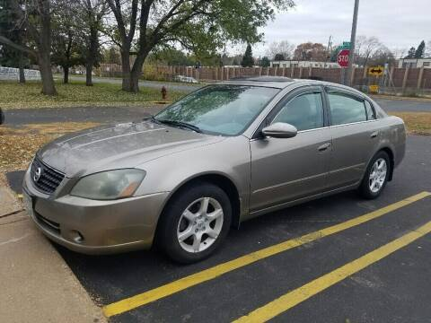 2006 Nissan Altima for sale at Capital Fleet  & Remarketing  Auto Finance in Columbia Heights MN