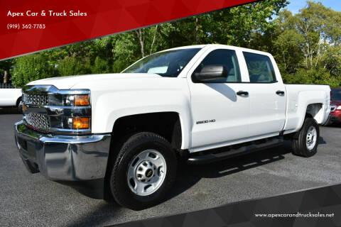 2019 Chevrolet Silverado 2500HD for sale at Apex Car & Truck Sales in Apex NC