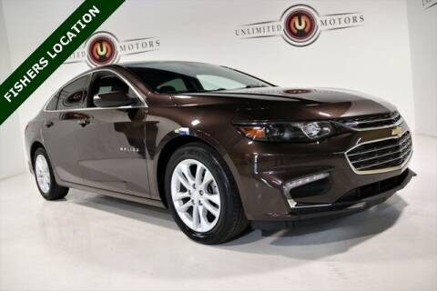 2016 Chevrolet Malibu for sale at Unlimited Motors in Fishers IN