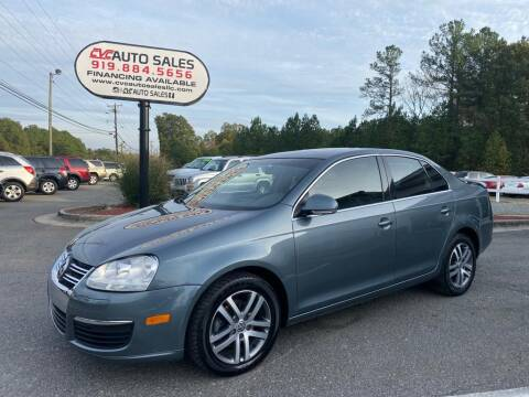 2006 Volkswagen Jetta for sale at CVC AUTO SALES in Durham NC