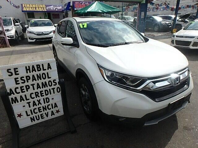 2017 Honda CR-V for sale at Cedano Auto Mall Inc in Bronx NY