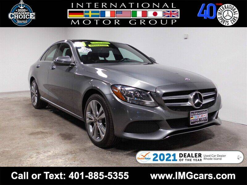 2018 Mercedes-Benz C-Class for sale at International Motor Group in Warwick RI
