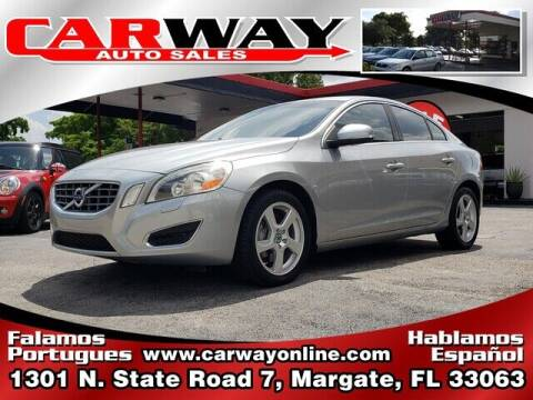 2013 Volvo S60 for sale at CARWAY Auto Sales in Margate FL