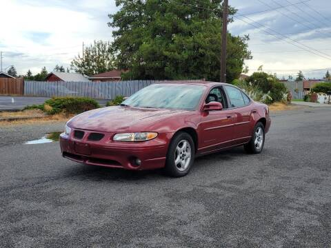 2001 Pontiac Grand Prix for sale at Baboor Auto Sales in Lakewood WA