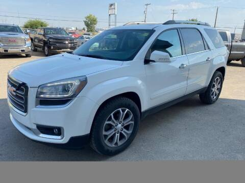 2013 GMC Acadia for sale at Platinum Car Brokers in Spearfish SD