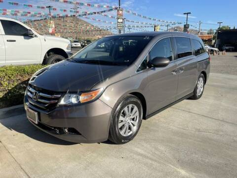 2014 Honda Odyssey for sale at Los Compadres Auto Sales in Riverside CA