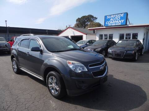 2011 Chevrolet Equinox for sale at Surfside Auto Company in Norfolk VA