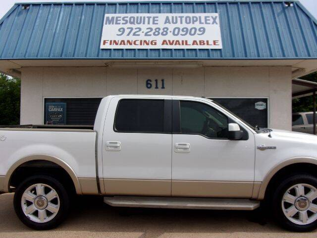 2008 Ford F-150 for sale at MESQUITE AUTOPLEX in Mesquite TX