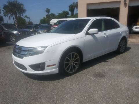 2010 Ford Fusion for sale at AutoVenture Sales And Rentals in Holly Hill FL
